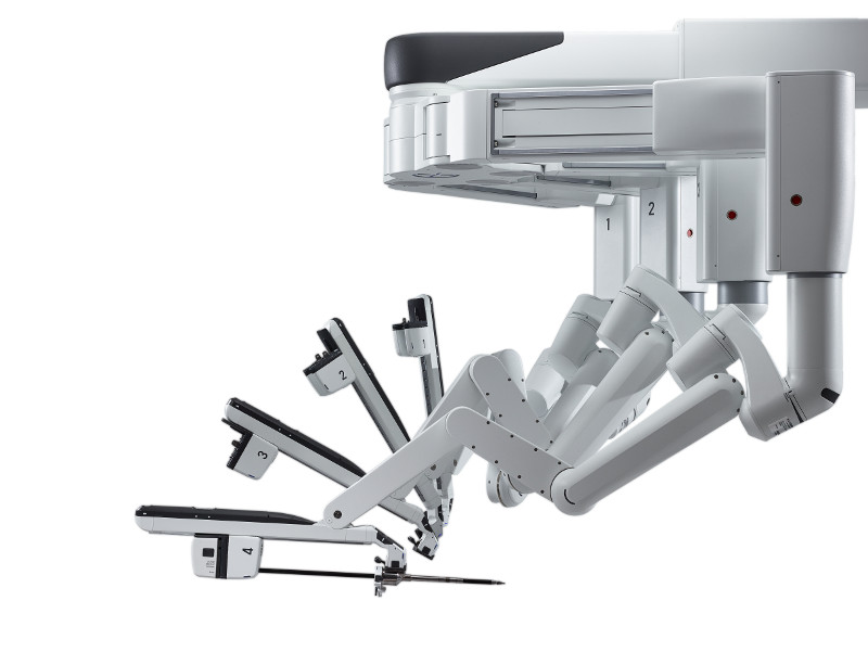 Part of the da Vinci Xi ©2014 Intuitive Surgical, Inc.