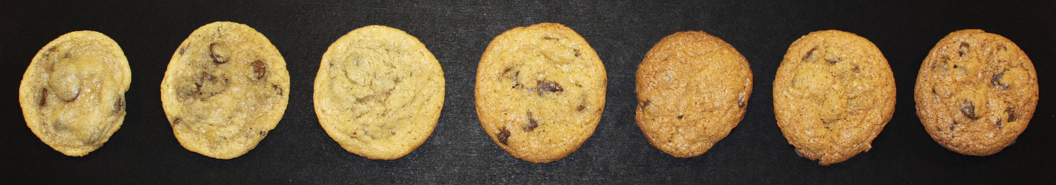 cookies 350 6 to 18 minutes
