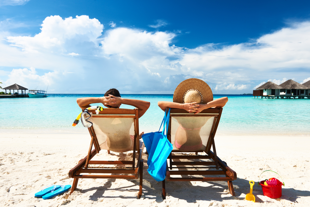 Beach chairs, from Shutterstock
