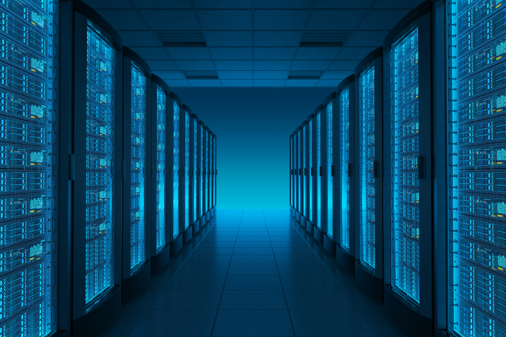 Server room, from Shutterstock