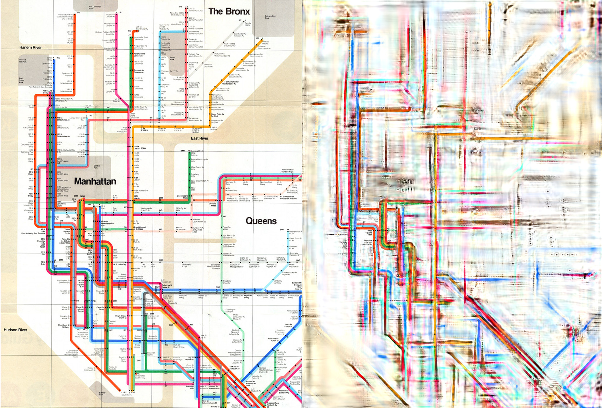 Can Science Untangle Our Transit Maps Science Friday - New york map geography
