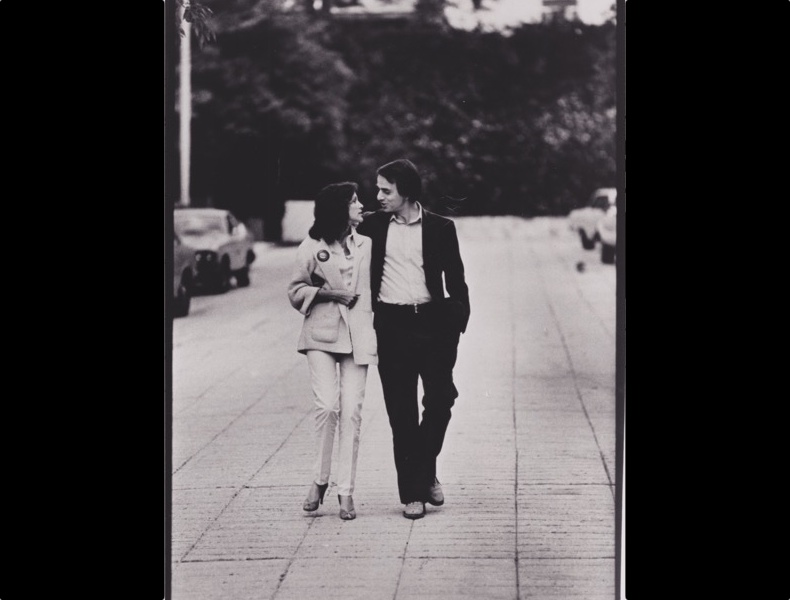 Ann Druyan and Carl Sagan. Photo by Tony Korody, courtesy of Druyan-Sagan Associates, Inc.