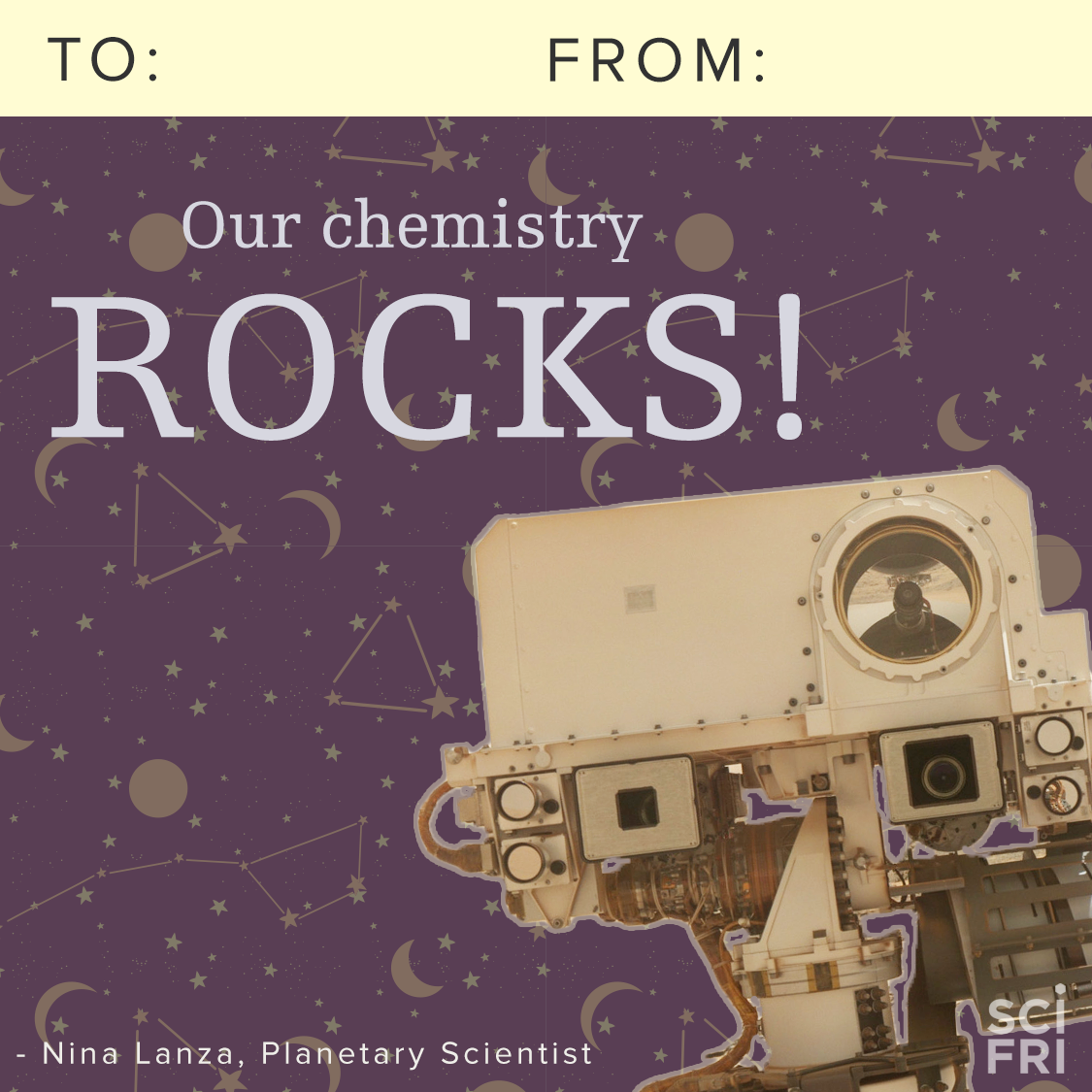 Listen to Nina Lanza talk about space rocks on SciFri
