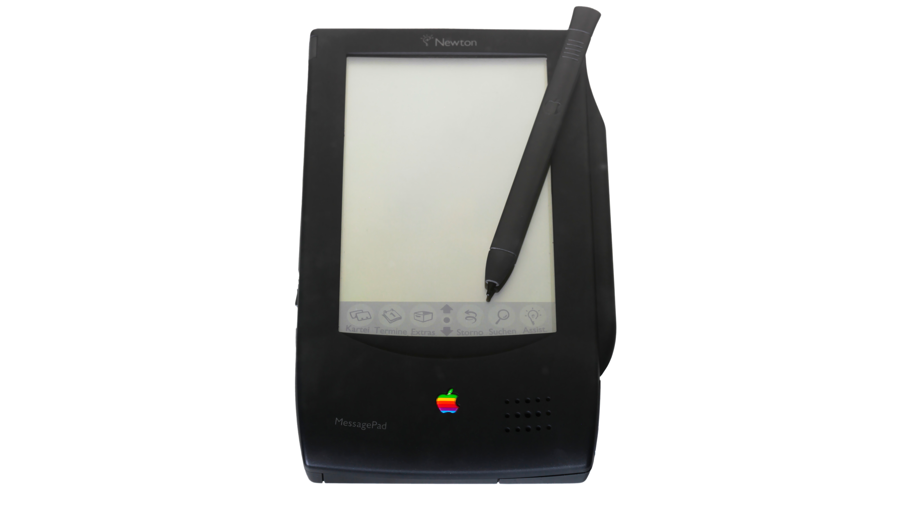 The Apple Newton was announced in 1993. Photo by Rama/Wikimedia Commons/CC BY-SA 2.0 FR