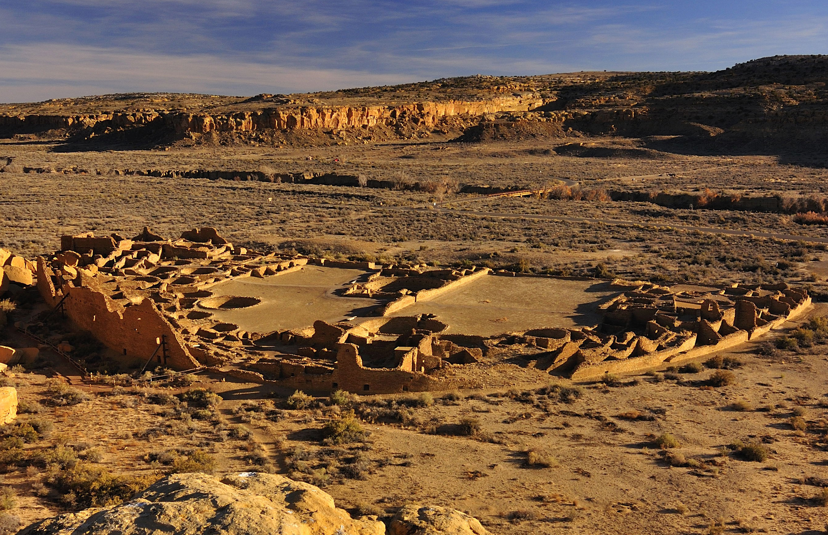 Pueblo Bonito in New Mexico's San Juan Basin; Photo courtesy of Nate Crabtree, http://www.natecrabtreephotography.com.