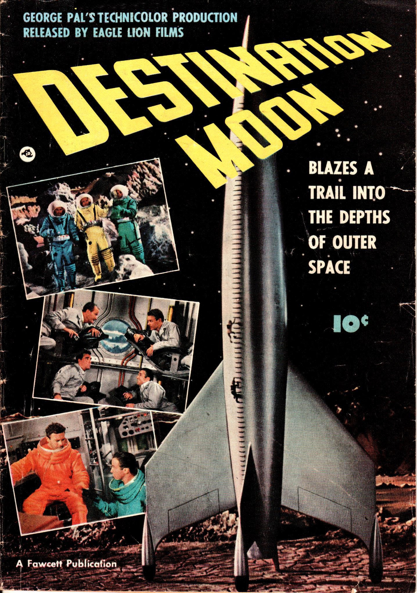 An early science fiction novel that depicted a moon landing.