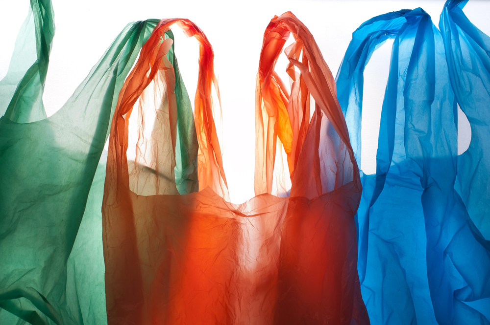 Plastic bags, from Shutterstock