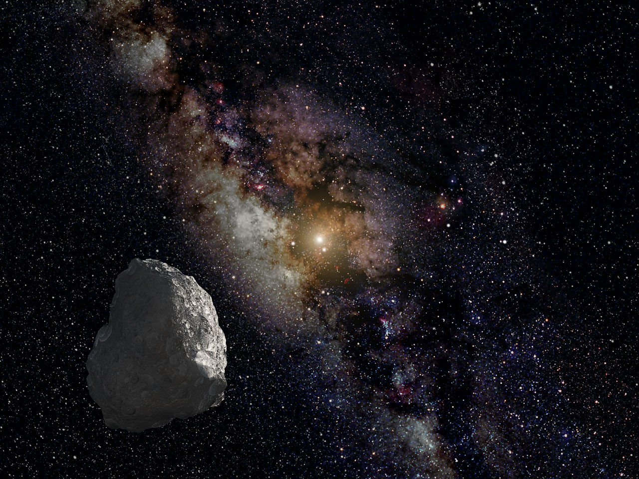 An artist's impression of a Kuiper Belt object, located on the outer rim of our Solar System, where Niku was discovered. Credit: NASA, ESA, and G. Bacon (STScI)