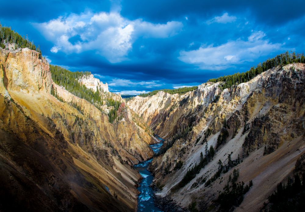 Yellowstone Canyon, from Shutterstock