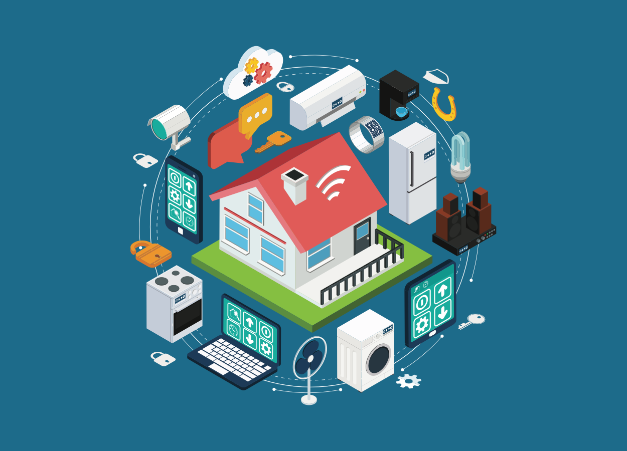 Internet of Things devices, via Shutterstock