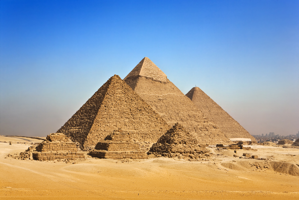 The Great Pyramid of Giza, via Shutterstock