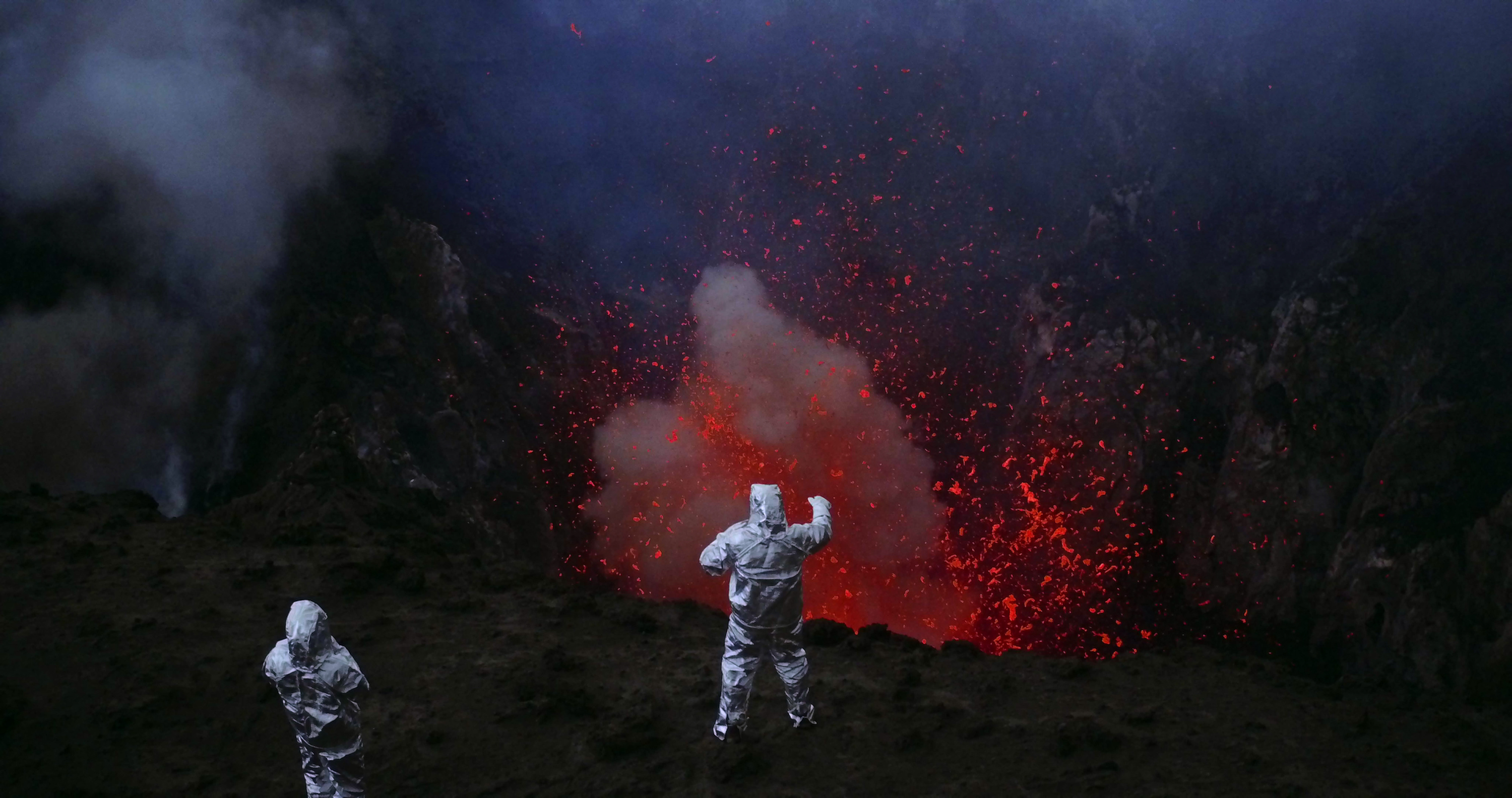 From 'Into the Inferno,' directed by Werner Herzog. Images courtesy of Netflix