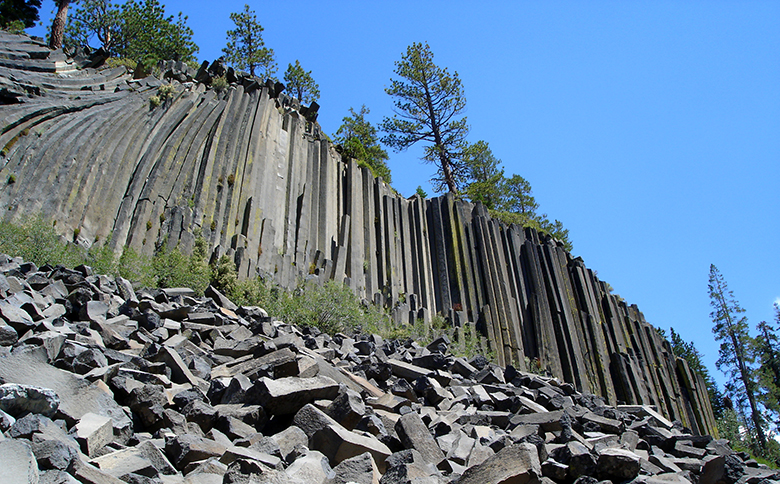 Devils Postpile National Monument, California. By Ryan Hollister