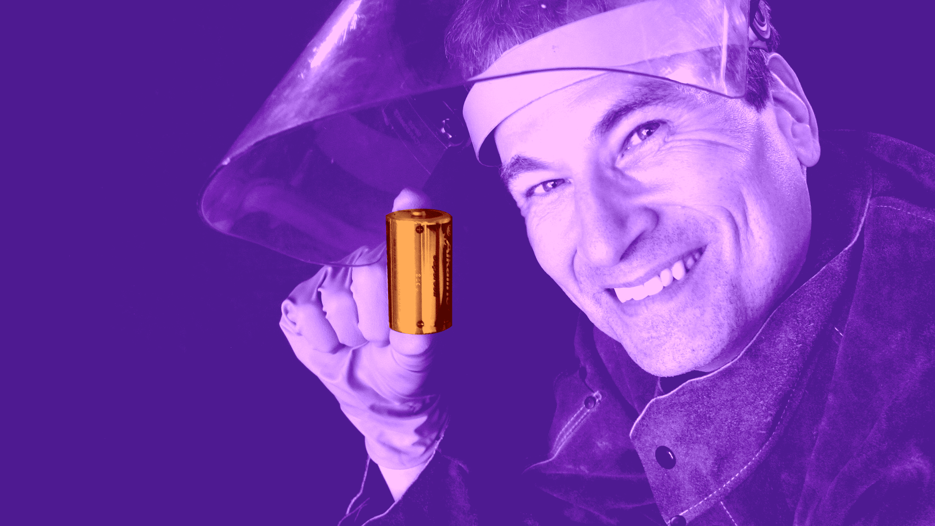 "David Pogue for NOVA's ""The Search for the Super Battery."" Credit: NOVA"
