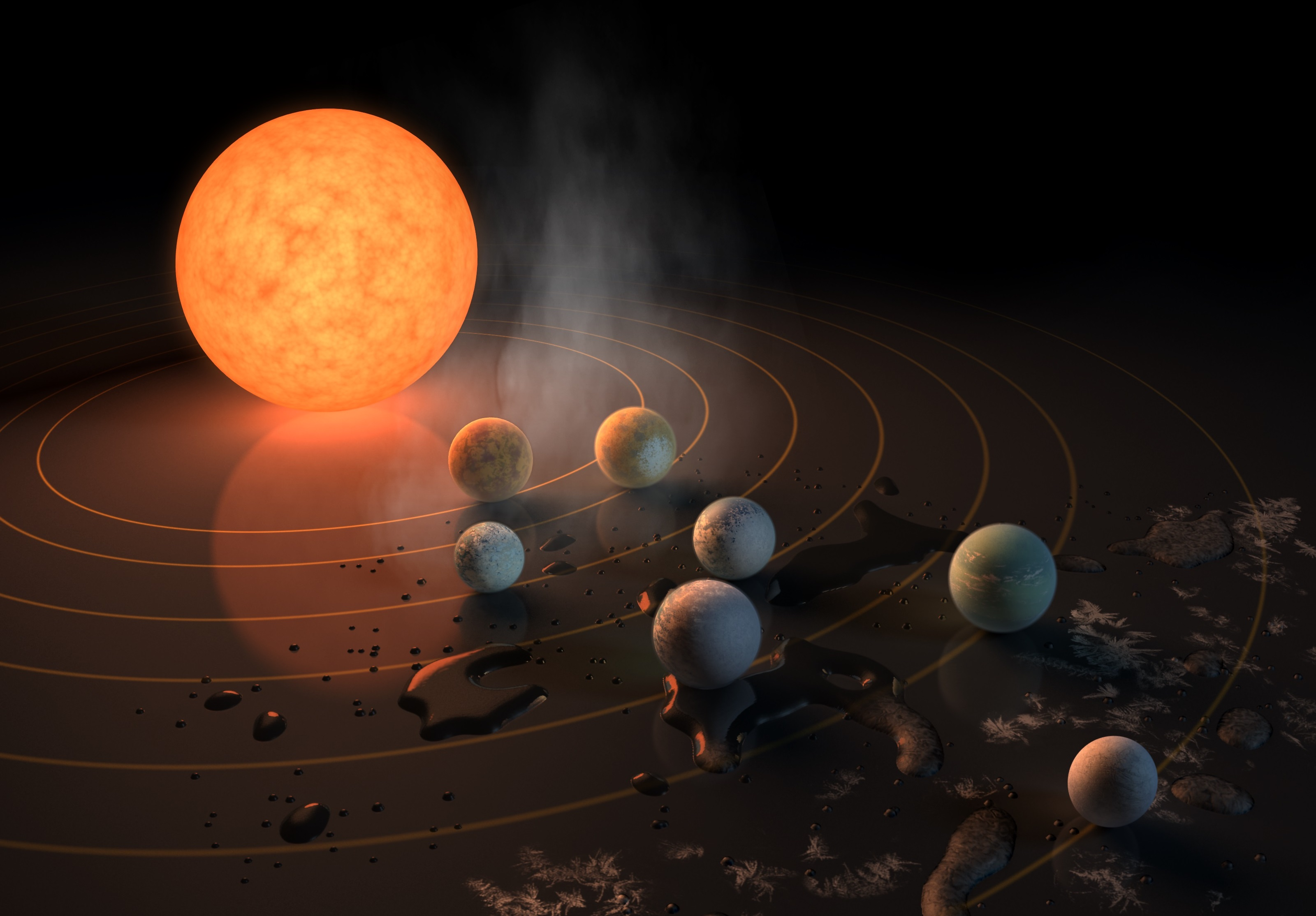 Local astronomer sheds light on newly discovered planets