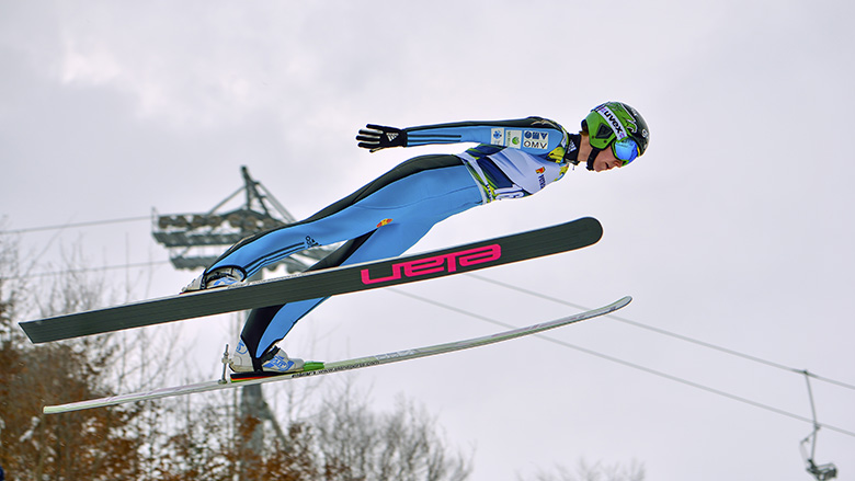 FIS Ski Jumping World Cup Ladies on February 7, 2015 in Rasnov, Romania. Credit: Danny Iacob / Shutterstock, Inc.