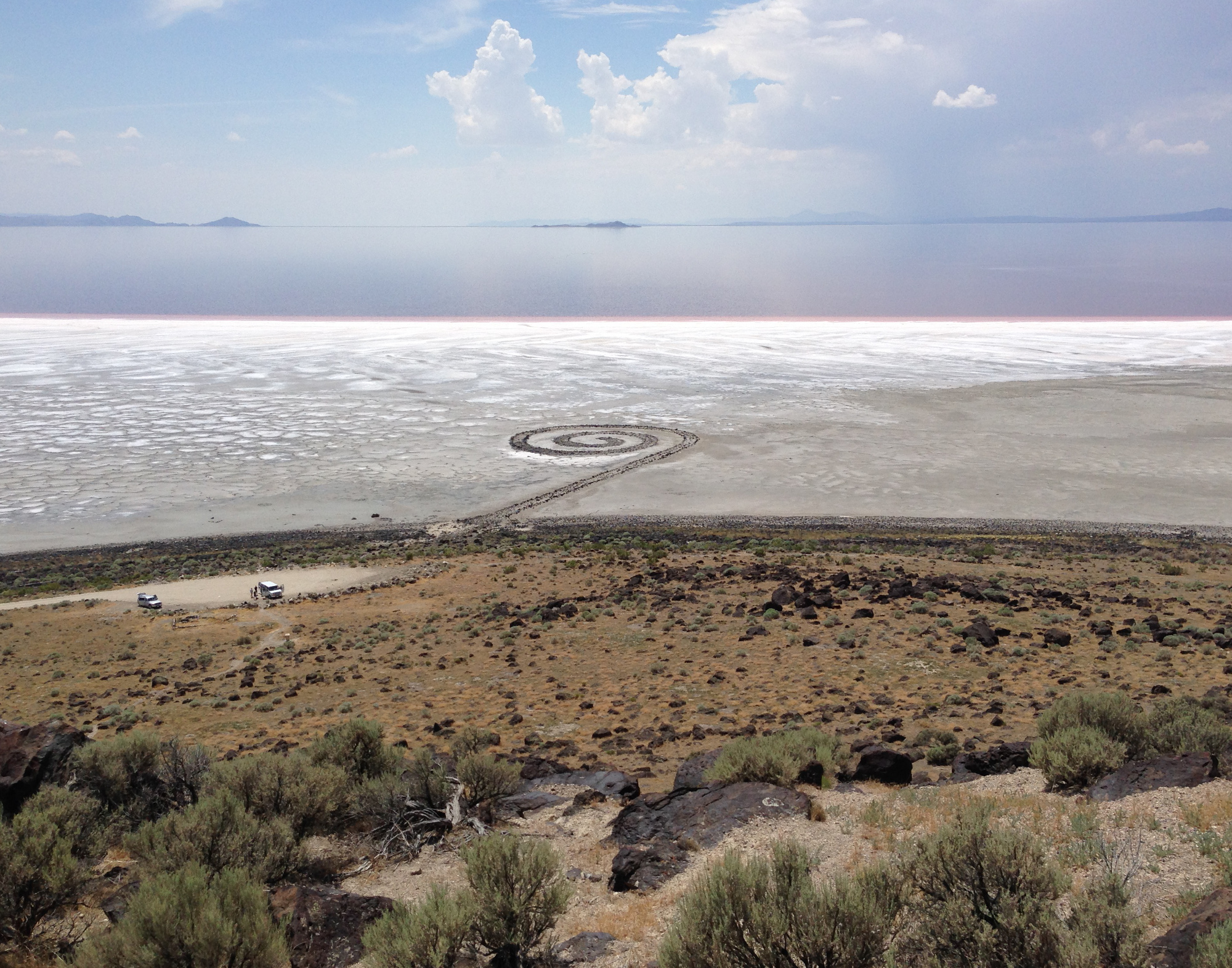 Great Salt Lake's Earthen Spiral
