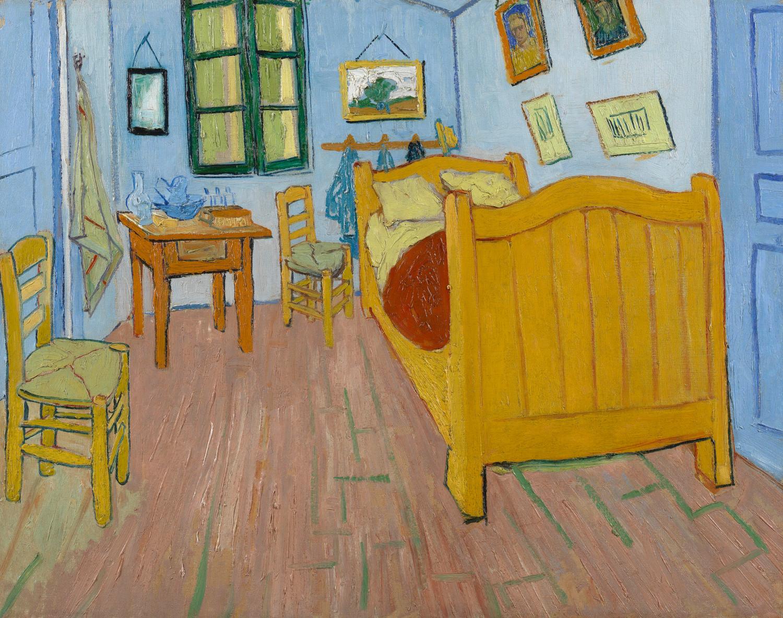 Van Gogh\'s \'Bedroom\' Walls Weren\'t Always Blue - Science Friday