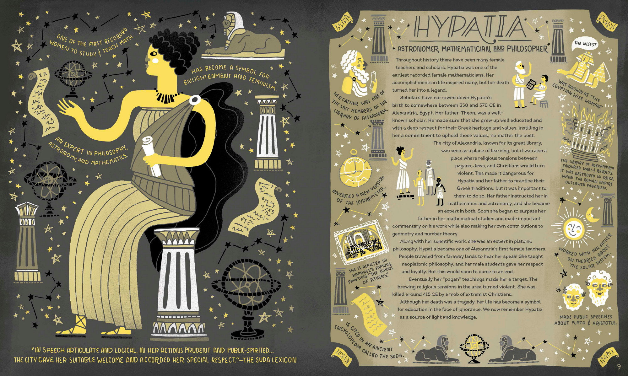 Women in Science: An Illustrated Who\'s Who - Science Friday