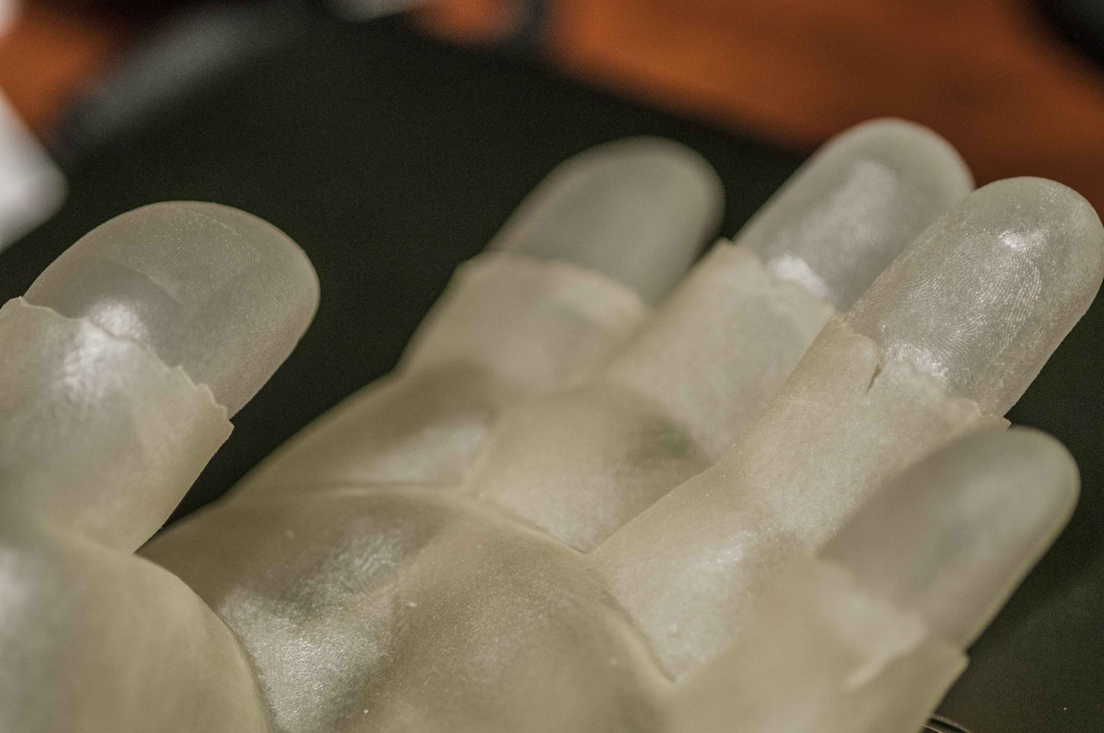 Msu Researchers Demonstrate How A 3 D Printed Model Hand Is Used To Test