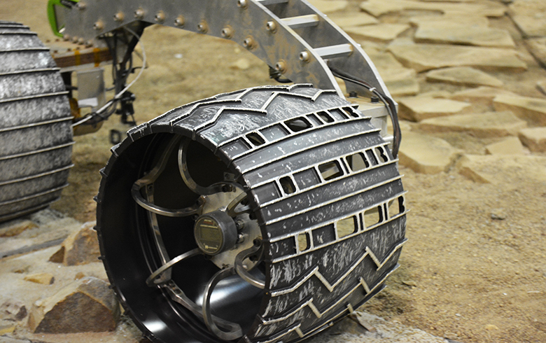 Reinventing the Wheel (for Mars) - Science Friday