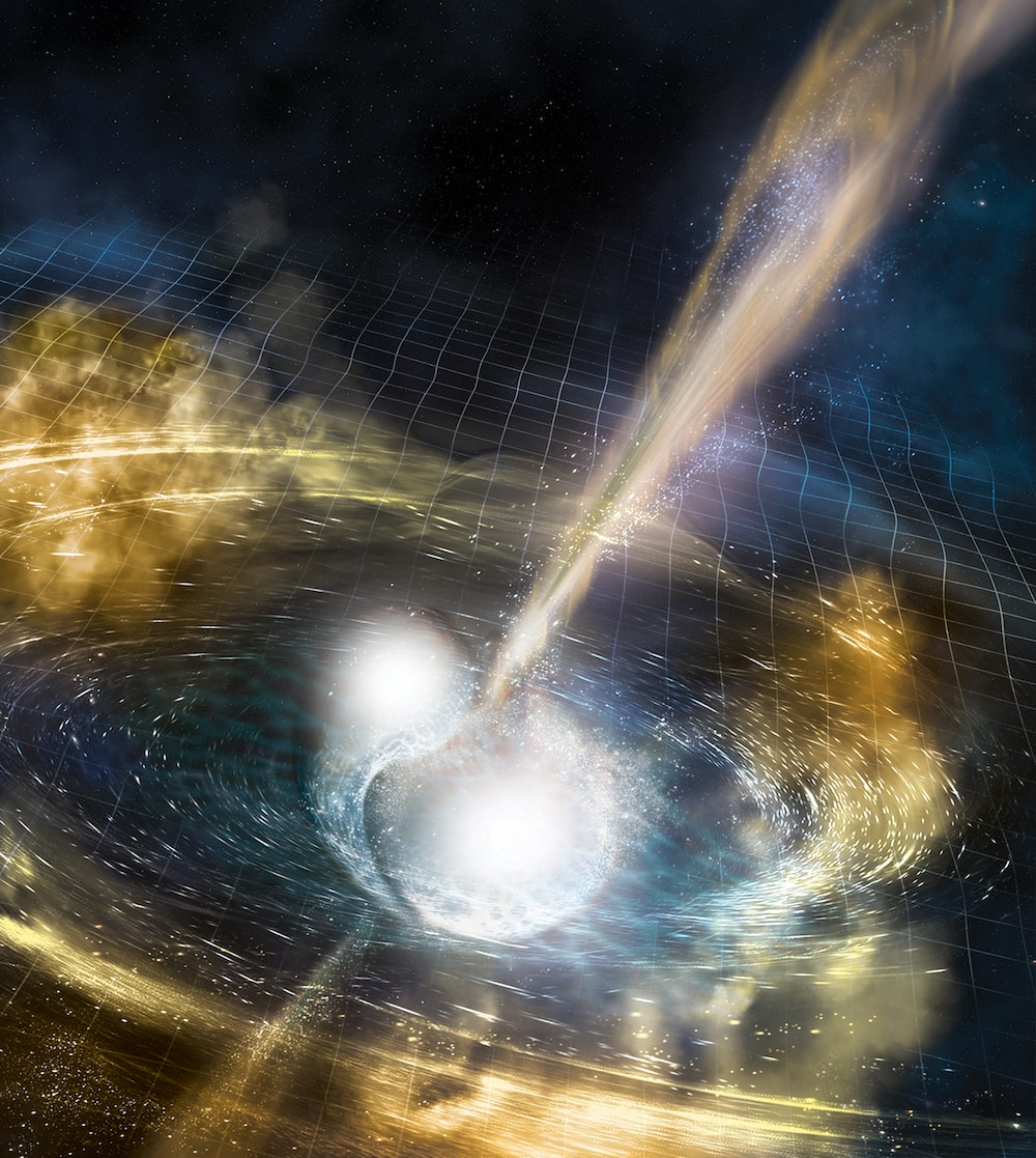 104.131.1.231 - A Stellar Collision, Ripples In Space-Time, And The Origins of Gold