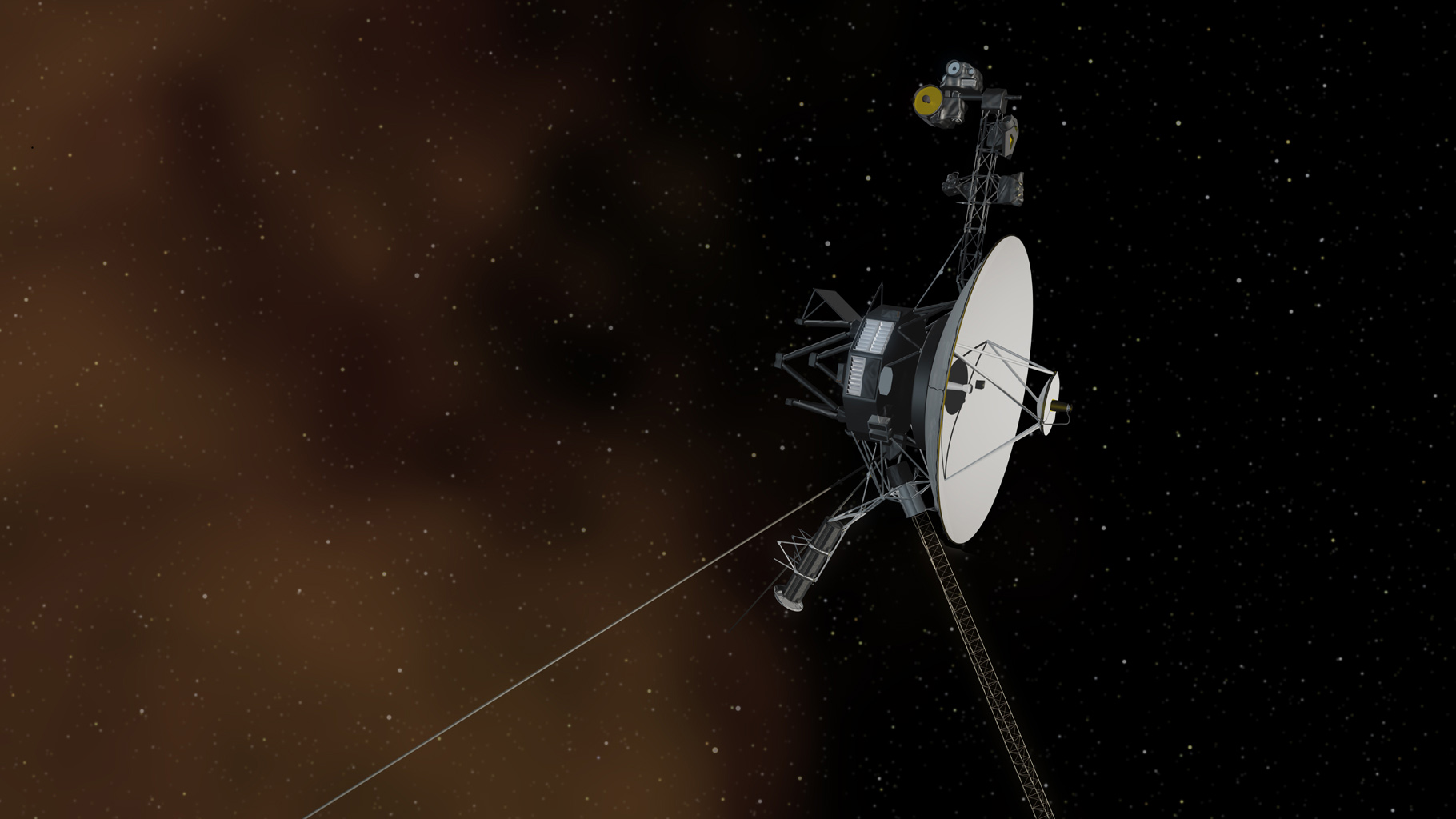 Voyager 1 leaving interstellar space