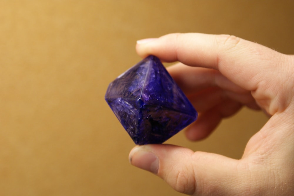 dark purple crystal