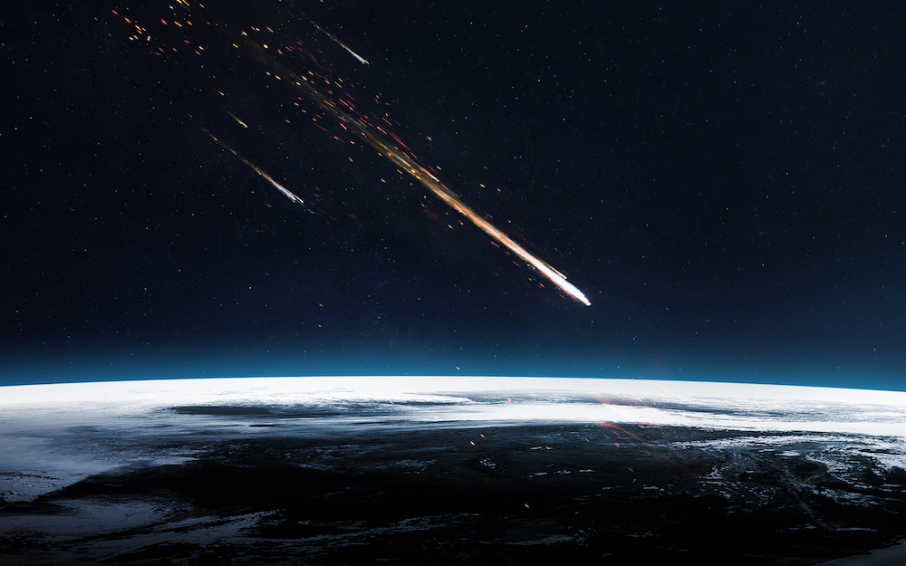 A Meteor In Michigan Lights Up The Sky