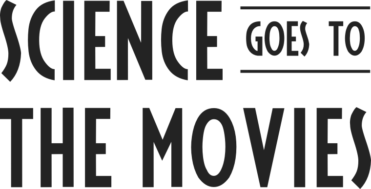 "logo that says ""science goes to the movies"""