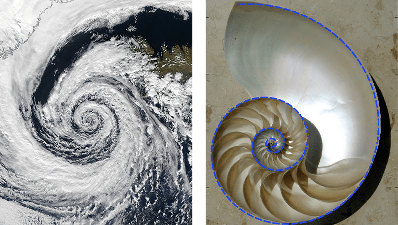 A satellite image of a cyclone spinning over Iceland