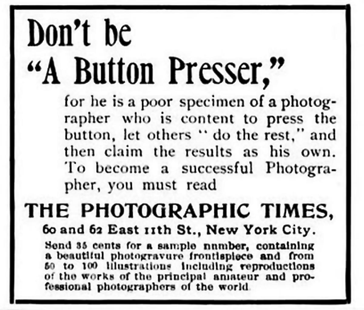 an anti-Kodak camera ad