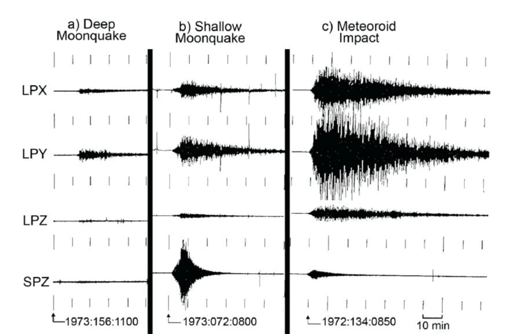 various black printed graphs that show seismographic information
