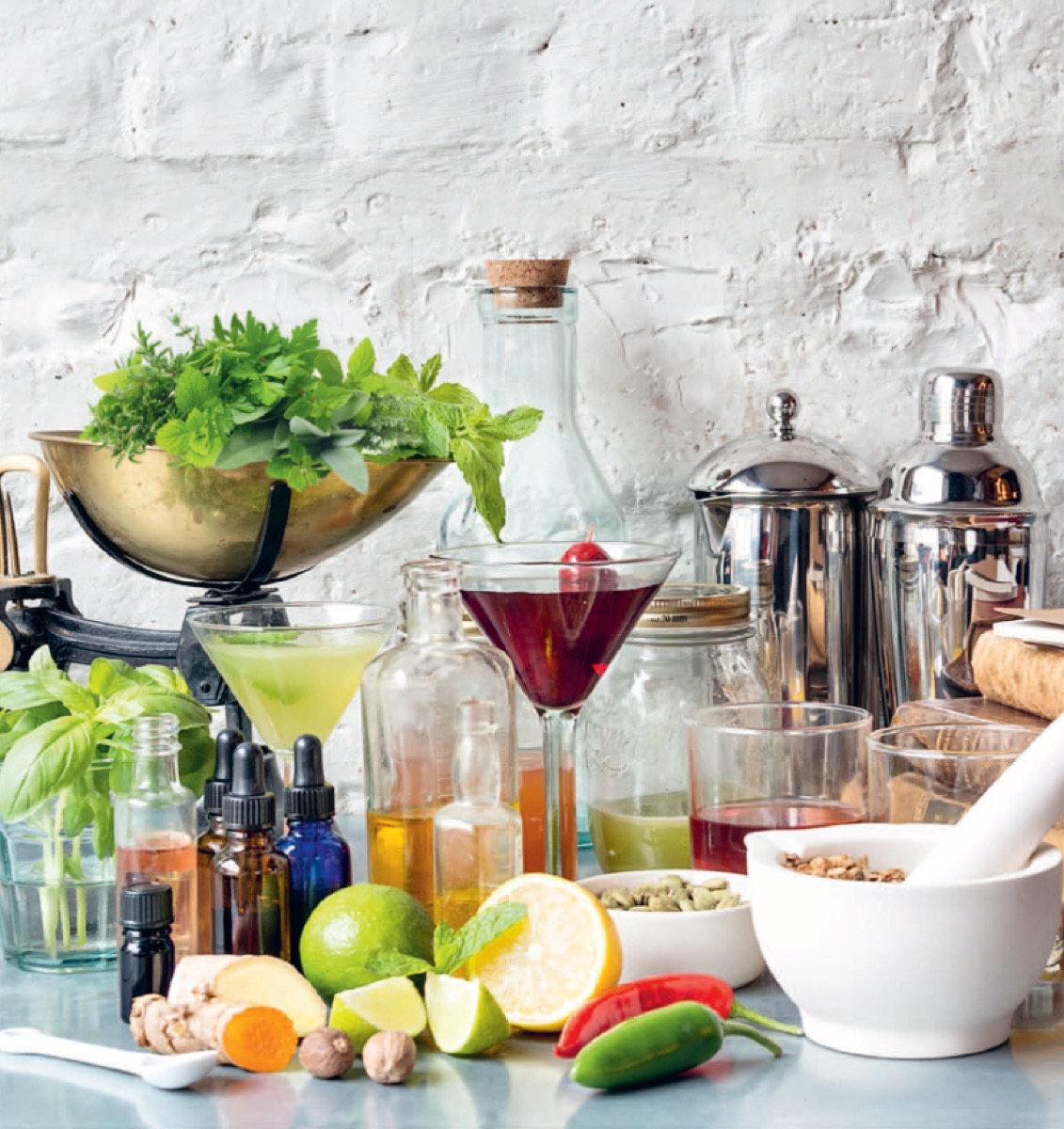 Botanists Explain The Chemical Roots Behind Your Favorite Bitters
