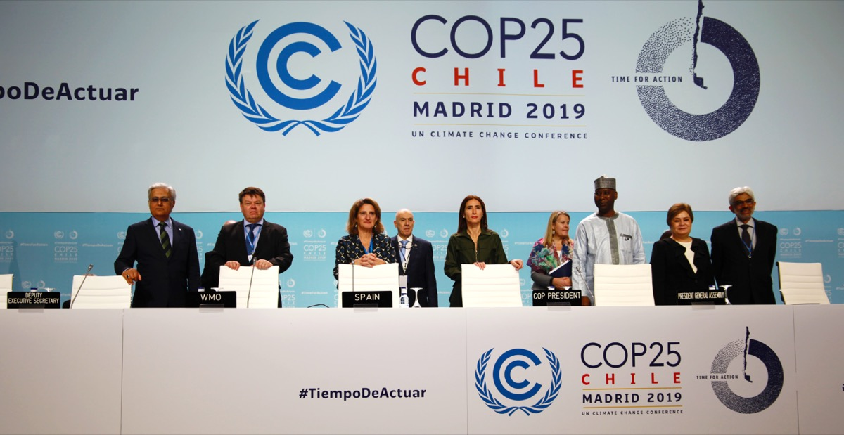 World leaders at COP25