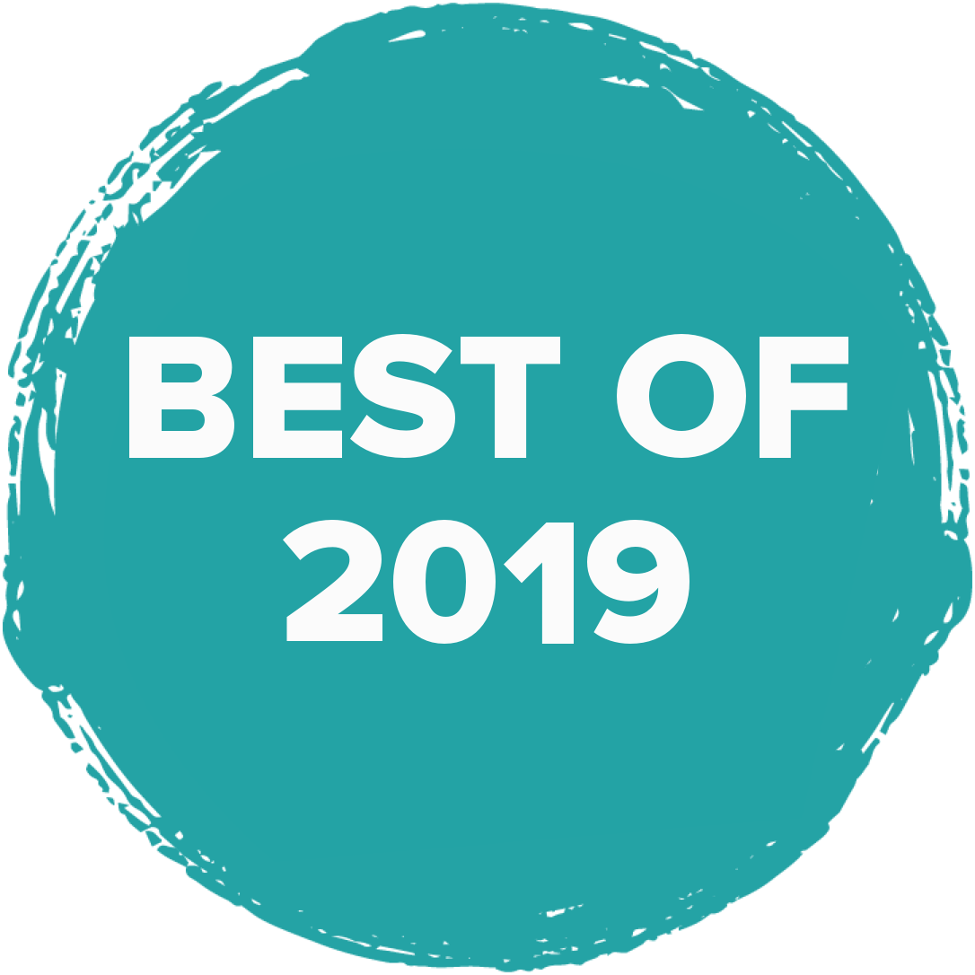 logo that says 'best of 2019'