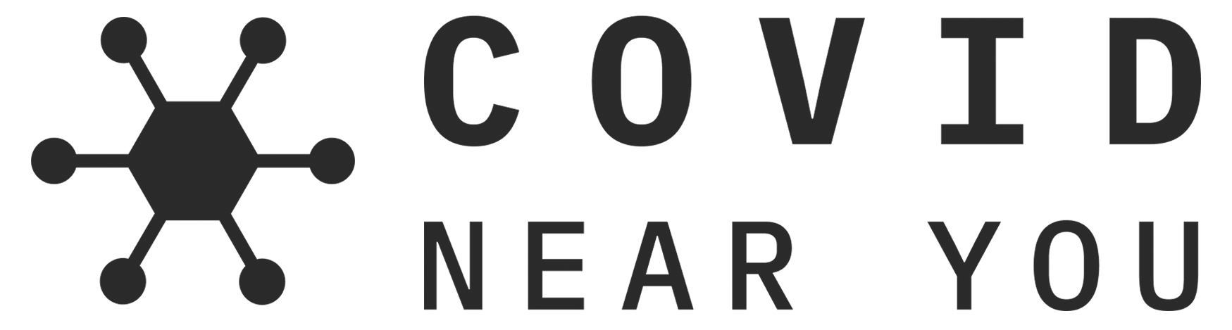 logo that says 'covid near you'