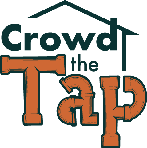 logo that says 'crowd the tap'