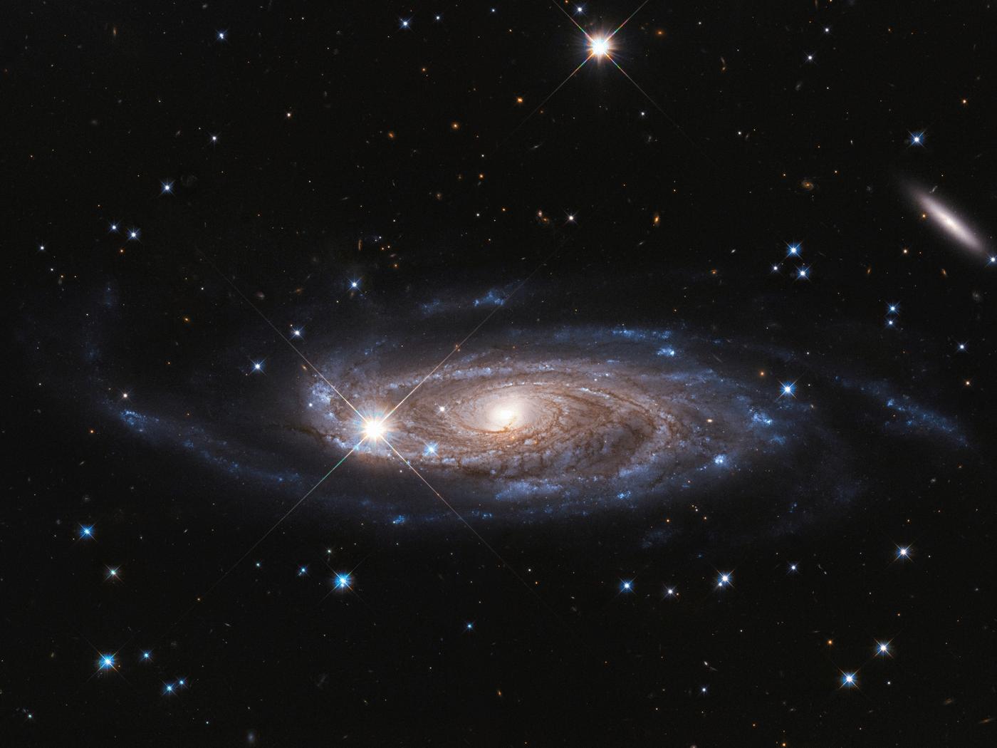 an image of a spiral galaxy