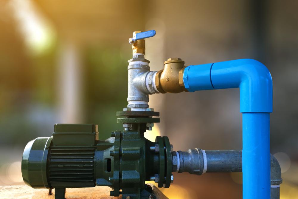 water pump pipe