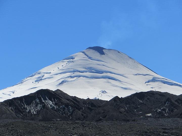 Villarrica volcano in Chile